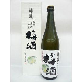 浦霞 純米原酒につけた梅酒 720ml