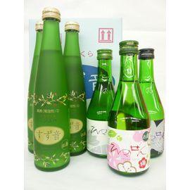 一ノ蔵 すず音3本・ひめぜん(Dry・Sweet・Ume) 6本セット