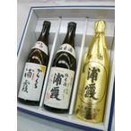 浦霞 のみくらべ(本醸造・純米酒・原酒) 3本セット 720ml×3