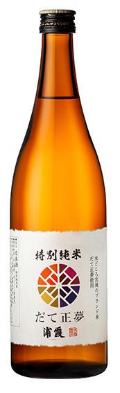 浦霞 特別純米酒 だて正夢 720ml